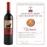 Gold Star Award - Best Old World Red Wine Under €10.00